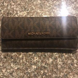 Michael Kors Wallet. Carried very little.